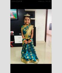 kids-green-pattu-saree-work-with-buta-and-ready-to-wear