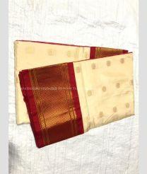 Pink with Purple Border color Tripura Silk handloom saree with zari  checks and handwork butties in  border design