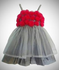 Beautiful designer frock for baby girl
