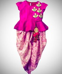 Dhothi dress for baby girl